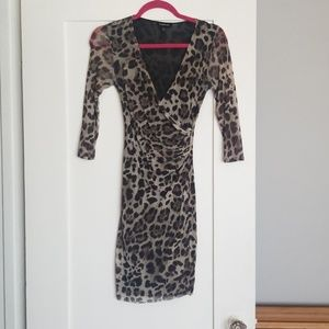 bebe Dresses - Laporte print mini dress